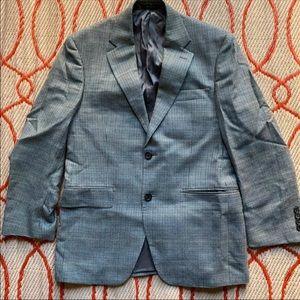 Lauren Ralph Lauren Men's Two Button Wool/Silk
